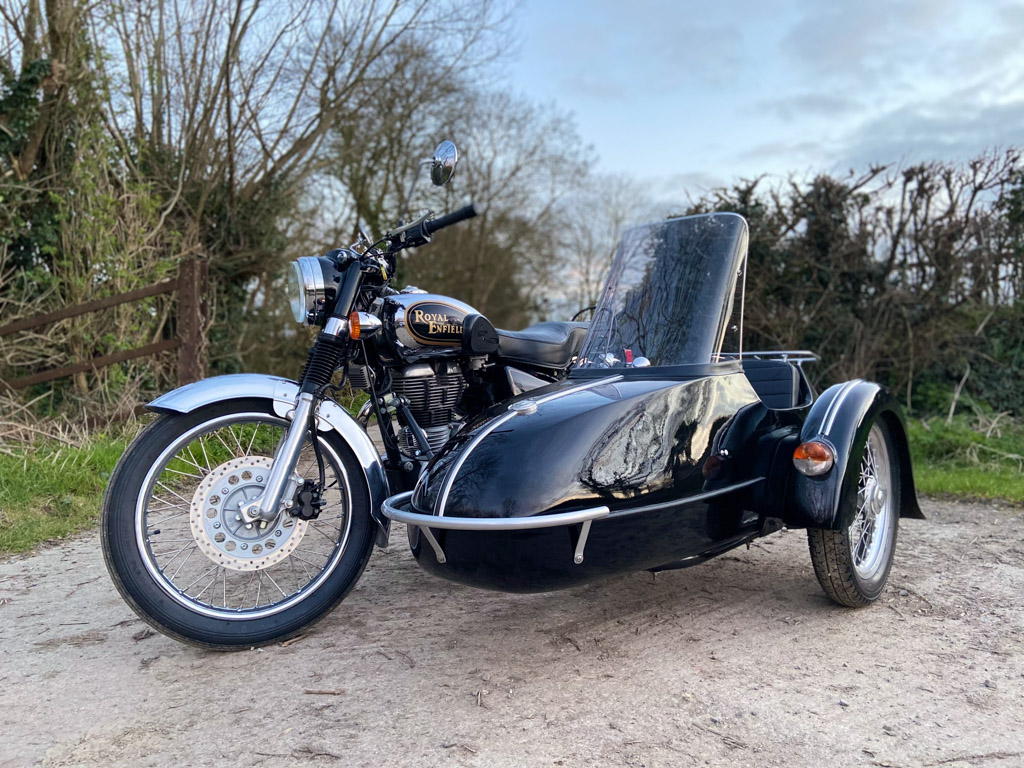 2010 Royal Enfield Bullet and Classic Sidecar - 5th April