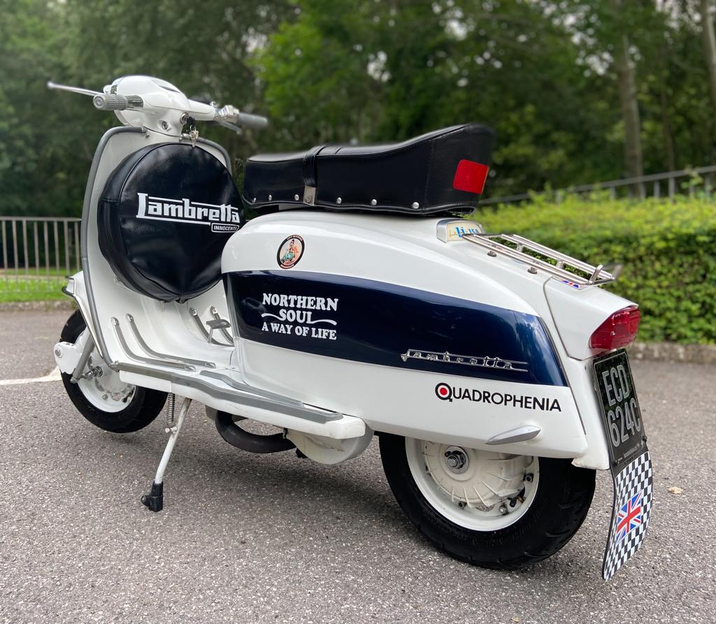 1965 - Series 3 Lambretta Li150 - 19th July