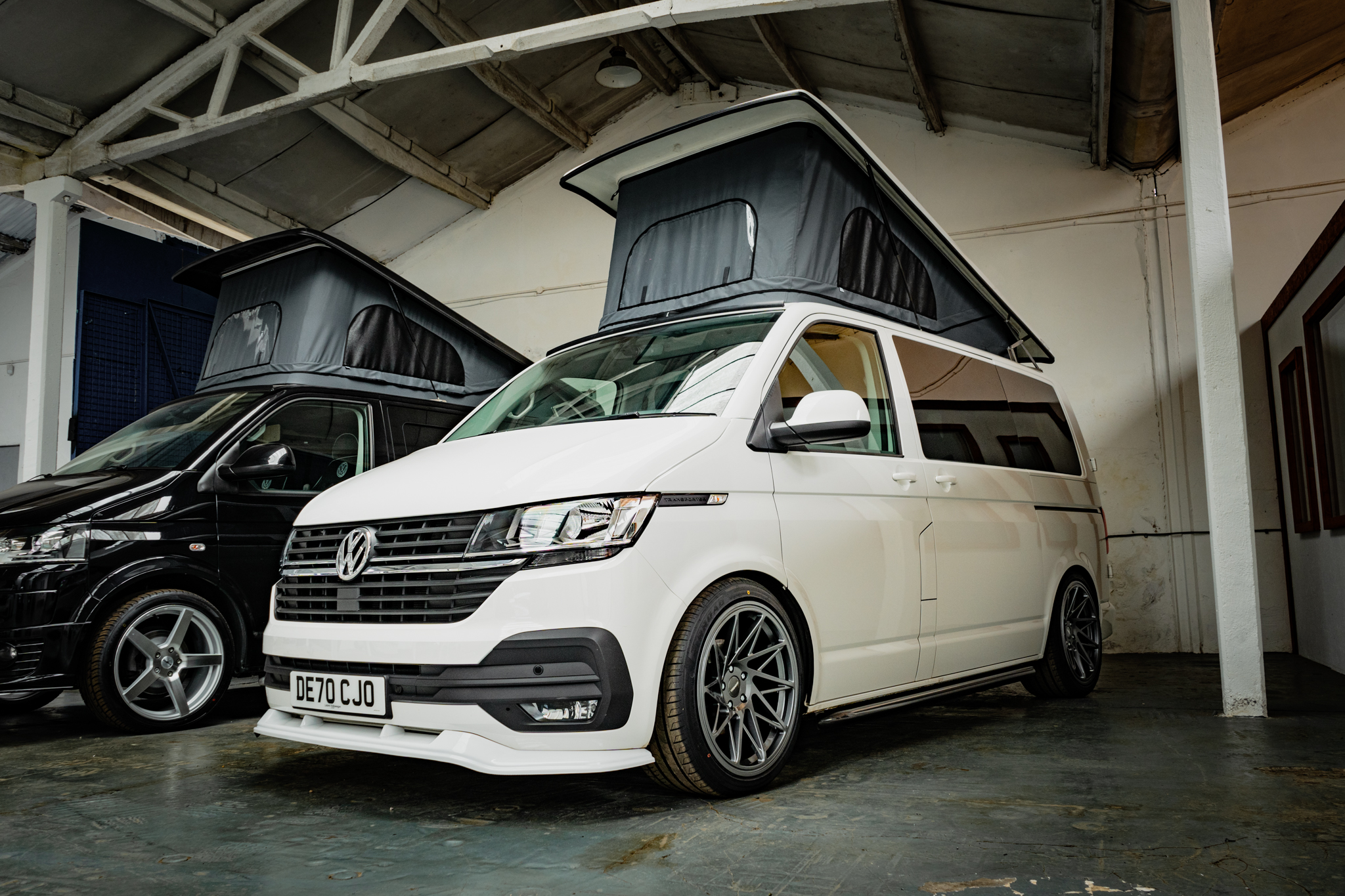 2020 VW T6.1 Highline in snow White with Poptop Roof  - 30th Aug