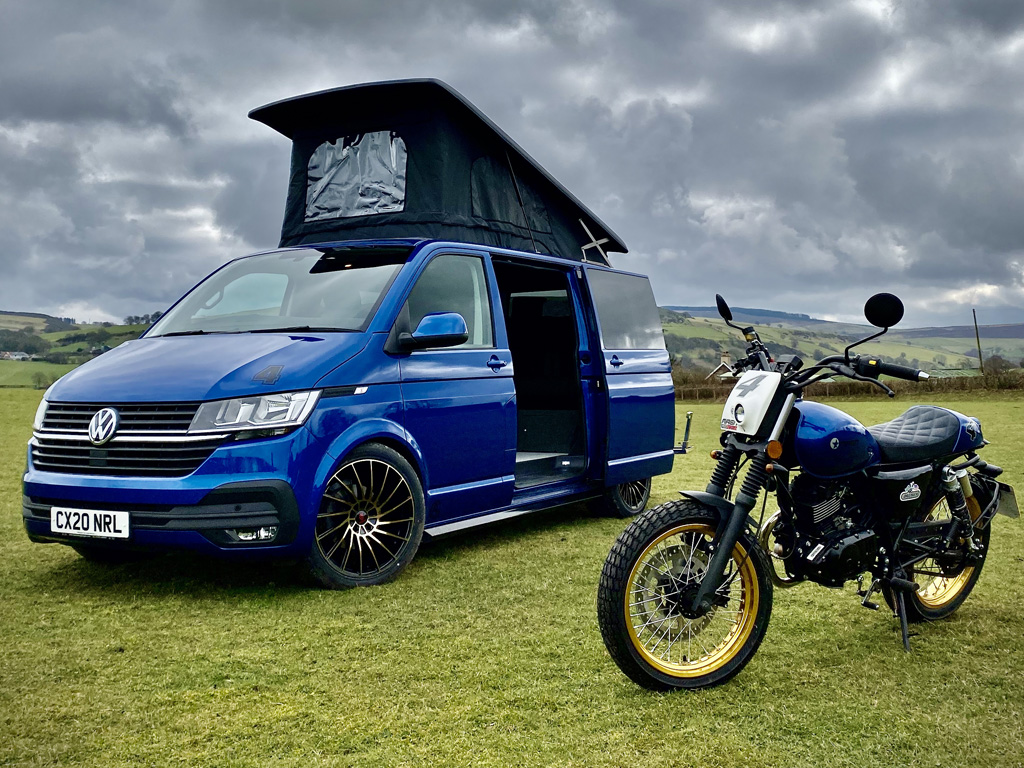 2020 VW T6.1 Highline combo with Motorbike - 5th April