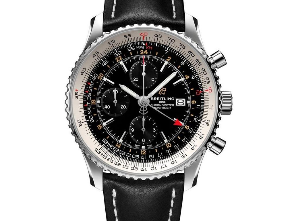 Breitling Navitimer World 46 Automatic Chronograph Men's Watch - 5th July