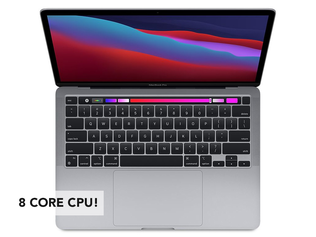 New MacBook Pro with Touch Bar (2021) with M1 Chip - 2nd Aug