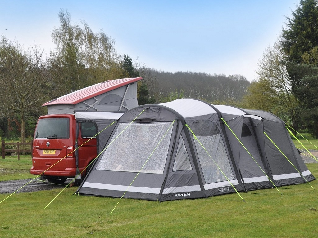 AIRTEK KAMPER XC INFLATABLE DRIVE AWAY CAMPERVAN AWNING - 29th March