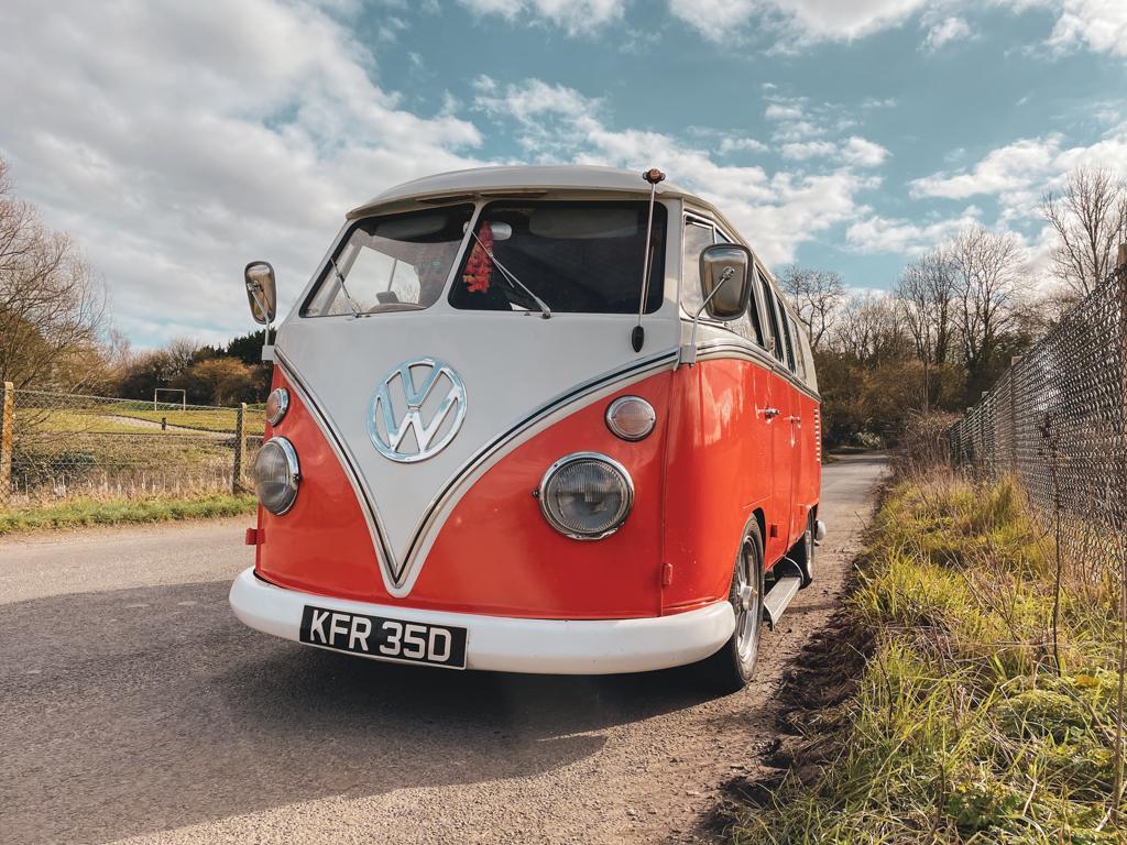 1966 VW Split Screen RHD Camper Van - The Tangerine Tickler - 22nd March