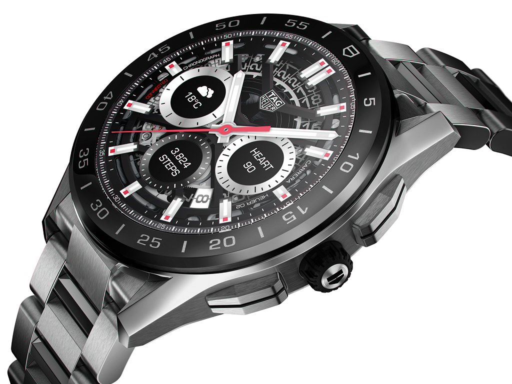 TAG HEUER CONNECTED 2020 45MM WATCH - 15th March