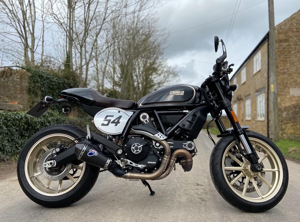 2018 Ducati Scrambler Café - 22nd March