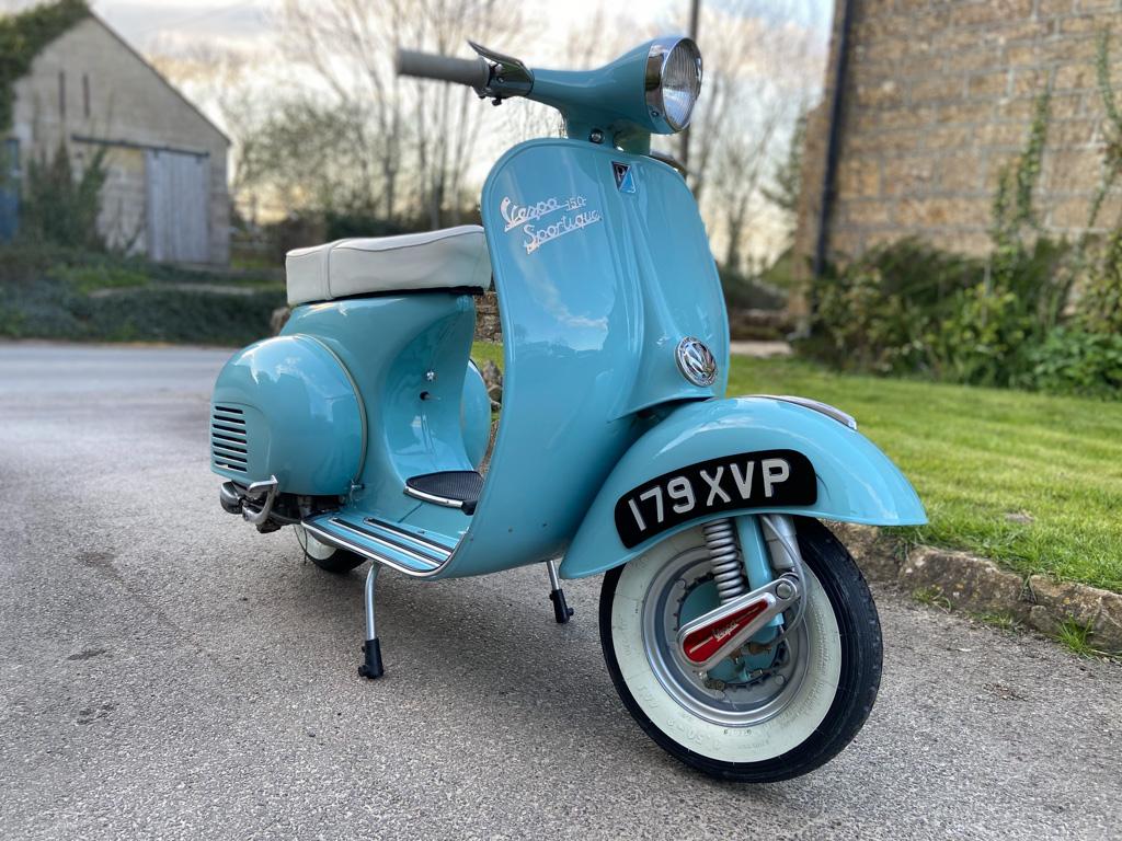 Vespa 150 Sportique 1961 - 26th April