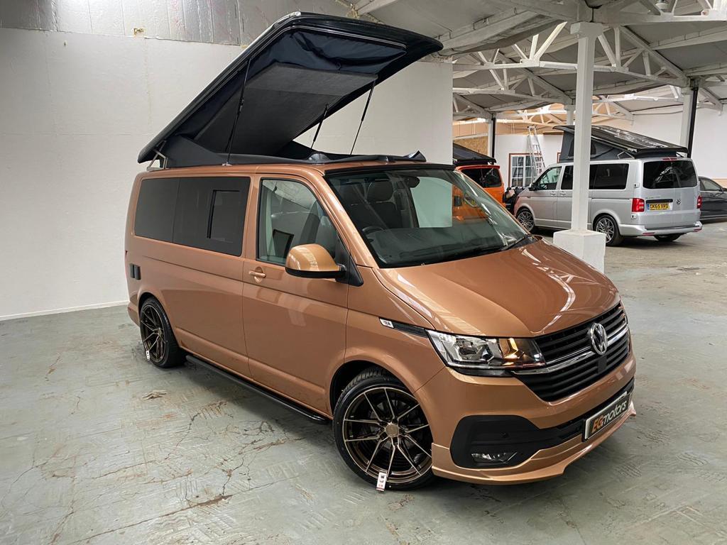 2020 VW T6.1 Highline 2.0 TDI - Copper Off Grid Camper - 24th May