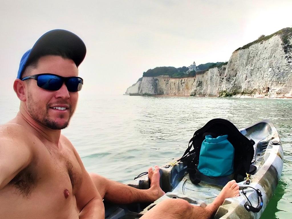 Winner Peter Shepherd of a SUNFISH DOUBLE SIT ON TOP LEISURE FISHING KAYAK 2 PLUS 1 - 26th July