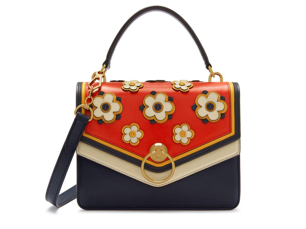 Mulberry Harlow Satchel Silky Calf Geo Floral – Charity Giveaway!